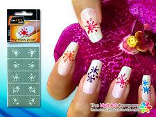 SmART-Nails - Splats Nail Art Stencils N045 Professional Nail Product