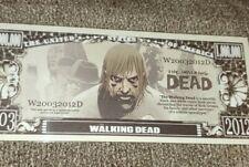 The Walking Dead Novelty Money Bill