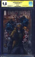 Undiscovered Country #1 UNKNOWN VARIANT CGC SS 9.8 signed Johnny Desjardins