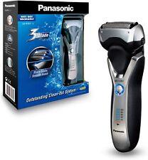 Panasonic Nass/Trocken-Rasierer ES-RT67 mit 3 Scherelementen, Langhaarschneider,
