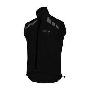 Sikma Mens Cycling Gilet Lightweight Wind Resistant Jacket Reflective