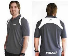 Head Men's Polo Grey & White - Small