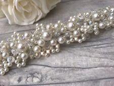 Handmade Bridal Hair Vine / Wedding Hair Piece /accessory. Silver Pearl Beads