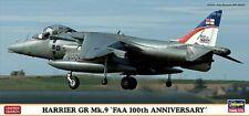 "Hasegawa 01923 - 1/72 Harrier Size Mk.9 - "" Faa 100th Anniversary "" - New"