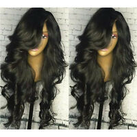 Brazilian Body Wave Human Hair Wigs Full Lace Wigs With Bang 13X6 Lace Front Wig
