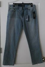 Chaps Slimming Fit Madden  Straight-Leg Jeans Women's Sz. 6 Short  NWT MSRP$59