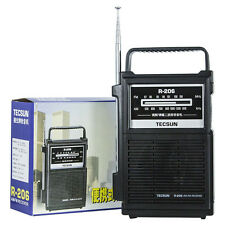 Tecsun R-206 Radio Multi-Bands FM MW SW Radio Receiver Speaker Home Gift