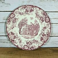 Wedgwood May Hall Commemorative Plate First State Normal School in America MA