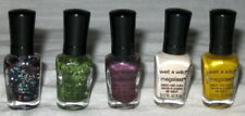 5 NEW WET N WILD MEGALAST SALON NAIL COLOR POLISH MINI SET FALL WINTER HOLIDAY