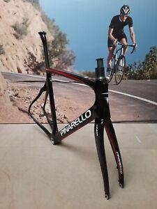 Pinarello Gan Disc Frame Set 59cm Carbon (Black)