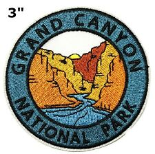 Grand Canyon National Park Embroidered Patch Iron Sew-On Vacation Gear Applique