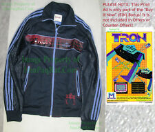NITF Adidas Tron Disney Adicolor Track Jacket Size Medium Full Zipper BIG PICS