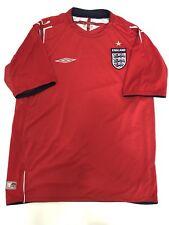 Umbro England Inghilterra Maglia Calcio Nazionale Inglese Taglia L Mondiali