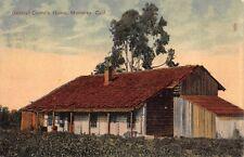 Postcard General Castro's Home in Monterey, California~114355