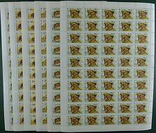 Kasachstan Kazakhstan 1993 Tiere Animals Gepard Iltis 31-36 Bogensatz MNH