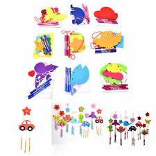 1 Pcs DIY Campanula Wind Chime Kids Manual Arts and Crafts Toys for Kids new.