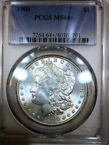 1900 Morgan Silver Dollar PCGS MS64+ Beautiful Plus Coin