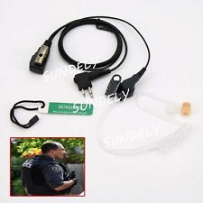 Motorola Radio Covert Acoustic Headset Earpiece  GP300/GP308 PMR446 ECP100