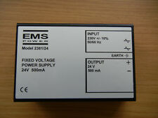 Ems Power Fixed Voltage Power Supply 2381-24 24V 500mA