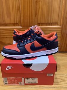 Nike Dunk Low SP Champs Colors University Orange Marine 2020 Size 10 DS (New)