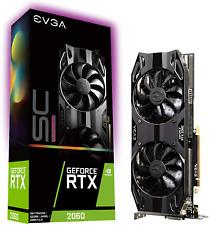 New listing Evga 06G-P4-2067-Kr GeForce Rtx 2060 Sc Ultra Gaming, 6Gb Gddr6, Dual Hdb Fans