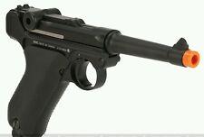 Kwc gas blowback CO2 Luger PO8 full metal airsoft pistol gun C02 parabellem gbb