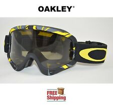 OAKLEY® O-FRAME® GOGGLES MX ATV MOTOCROSS MOTORCYCLE INTIMIDATOR YELLOW TINTED