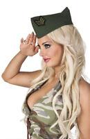 Deguisement femme soldat armée militaire béret cap chapeau enterrement vie fille
