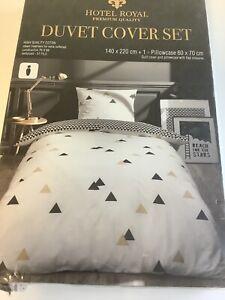 2tlg Bettwäsche Paris weiß Botanical Bettbezug Bett modern 140x220cm Nevresim