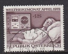 Austria 1972 World Heart Month SG1636 USED 4s Hospital Medicine