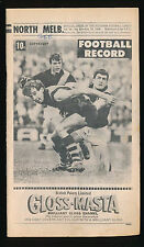 1969 VFL Football Record North Melbourne v Geelong August 16  Kangaroos Cats