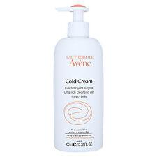 Avene Cold Cream Ultra Rich Cleansing Gel 400ml Body Wash Cleanser Shower #18531