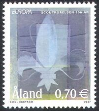 Aland 2007 Europa/Scouts/Scouting/Youth/Leisure/Badge 1v (n41569)