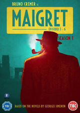 Maigret: Series One DVD (2016) Bruno Cremer ***NEW***
