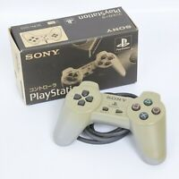 PS1 Controller Pad SCPH-1010 Boxed Gray Sony Playstation Official 1501