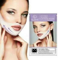 Anti-Falten-Kinnhals Face Lift Up Miracle V-förmige Lifting-Maske Abnehmen R2W0