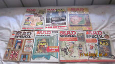 LOT OF SEVEN MAD SPECIAL MAGAZINES #'s 6/7/8/SPRING/15/21/24