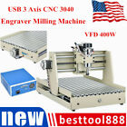 USB 3 Axis 400W CNC 3040 Router Engraver Milling Carving Machine Desktop 3D