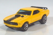 1998 Hot Wheels First Editions 1970 Ford Mustang Mach 1 Yellow 5 Spoke