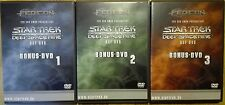 Star Trek Deep Space Nine Bonus DVDs 1 - 3 FedCon