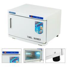 Beauty Equipment Towel Warmer Heater Facial Spa 16L Salon UV Sterilizer Cabinet