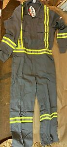 RASCO FLAME RESISTANT PREMIUM COVERALLS, NEW, REFLECTIVE, MULTIPLE SIZES