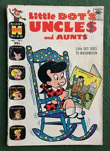 Little Dot's Uncles and Aunts #7 Harvey Comics RARE Canadian Price Variant JFK