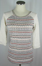 Marks and Spencer Semi Fitted Striped Scoop Neck Women's Tops & Shirts