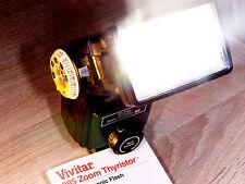 VIVITAR Profi System Blitz 285 Zoom Sensor Strobisten Traum Yongnuo RF 602 fähig