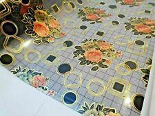 Tischdecke PVC  Tischfolie PVC  80 cm Breite transparent 1,7 mm, Meterware
