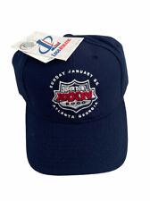 New listing Vintage NFL Super Bowl XXXIV 2000 Logo Athletic NWT Adjustable Strapback Hat Cap