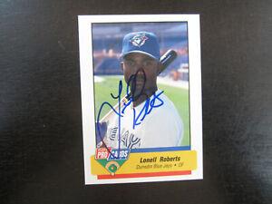 1994 Fleer ProCards # 2571 Lonell Roberts Autograph Signed (B) Dunedin Blue Jays