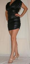 Jersey V Neck Short/Mini Stretch, Bodycon Dresses for Women