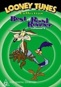 Looney Tunes - Best of Road Runner DVD Volume 1 - VERY RARE OOP - Australian R4